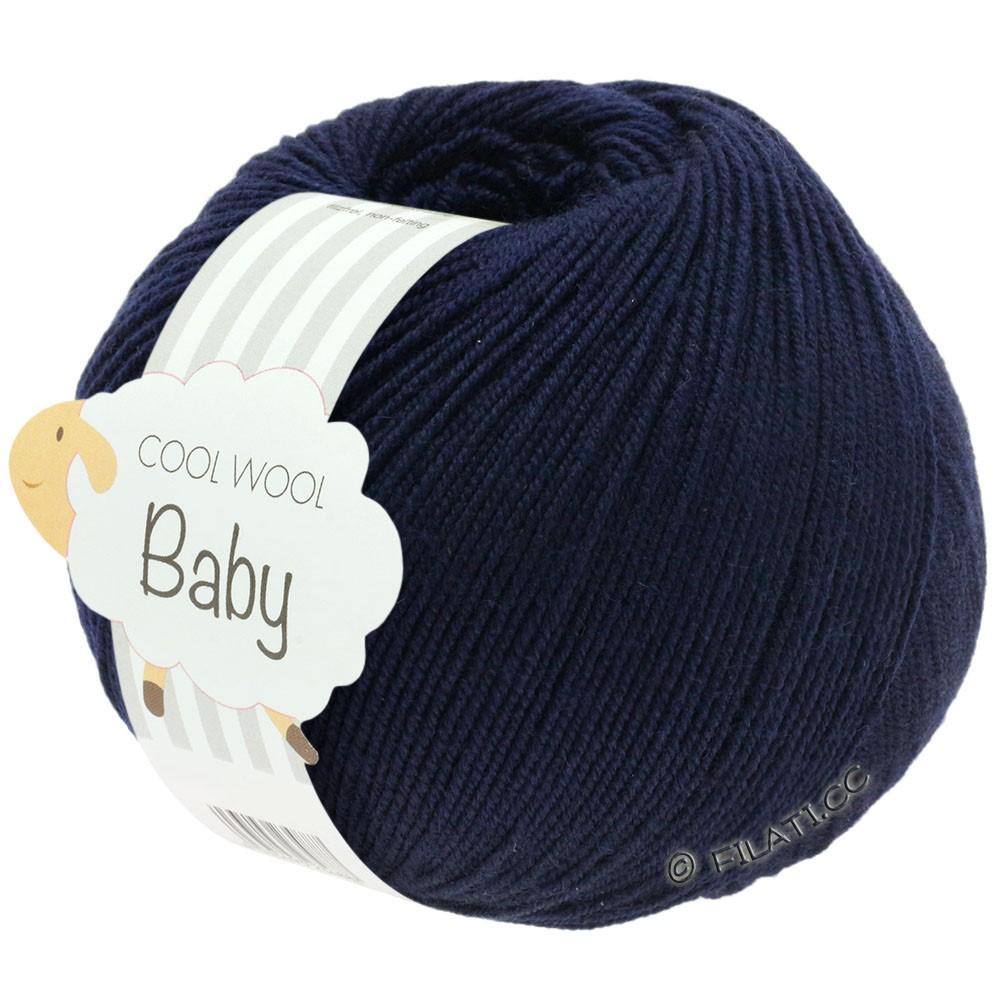 Lana Grossa COOL WOOL Baby | 210-nacht blauw