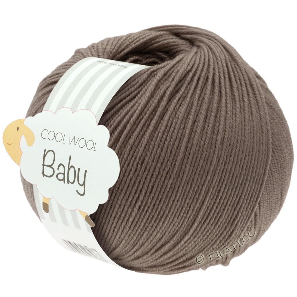 Lana Grossa COOL WOOL Baby | 211-grijs bruin