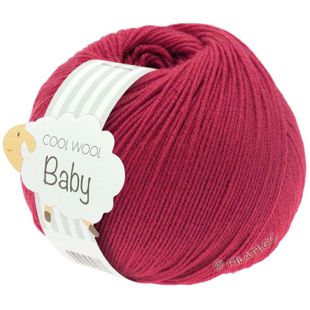 Lana Grossa COOL WOOL Baby | 220-kaardinalrood