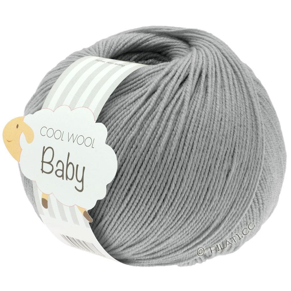 Lana Grossa COOL WOOL Baby | 241-licht grijs