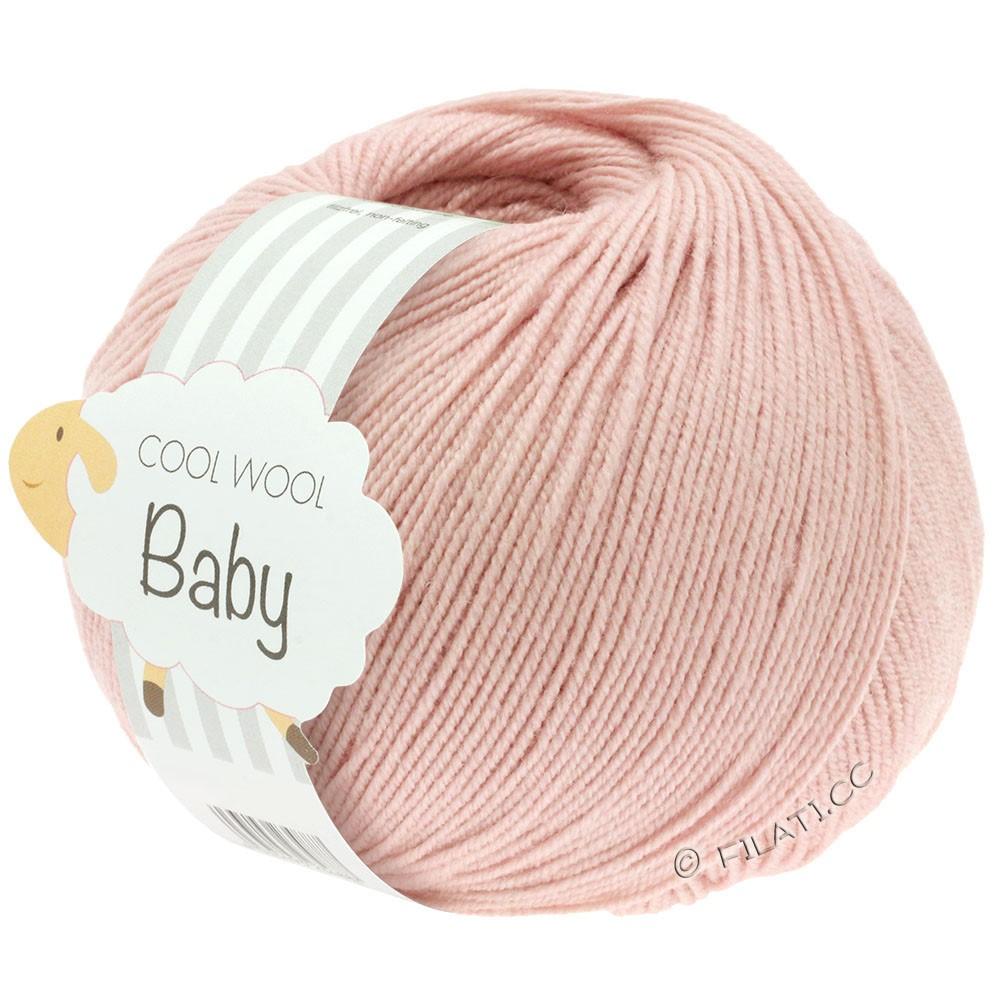 Lana Grossa COOL WOOL Baby | 246-poeder roze