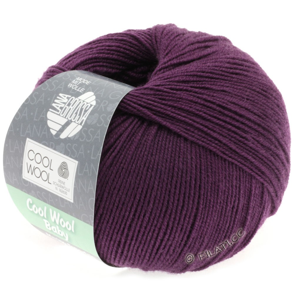 Lana Grossa COOL WOOL Baby | 248-donker violet