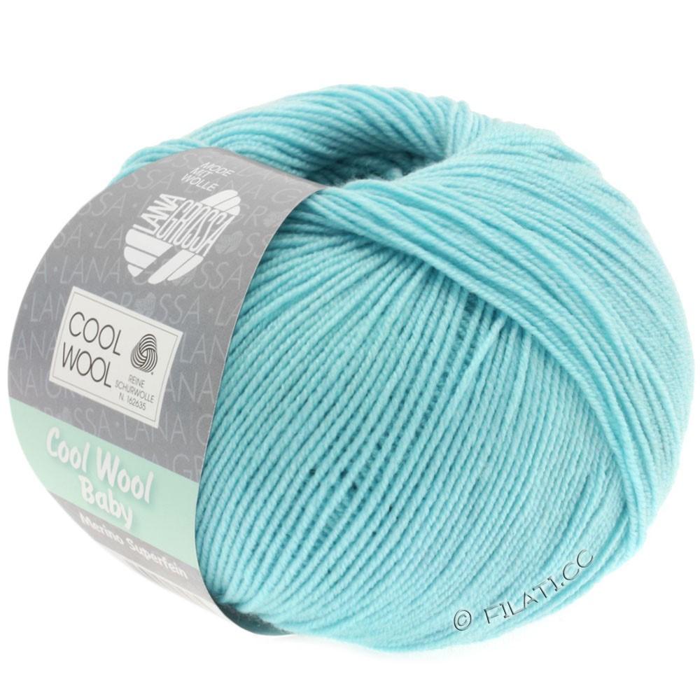 Lana Grossa COOL WOOL Baby | 253-ijsblauw