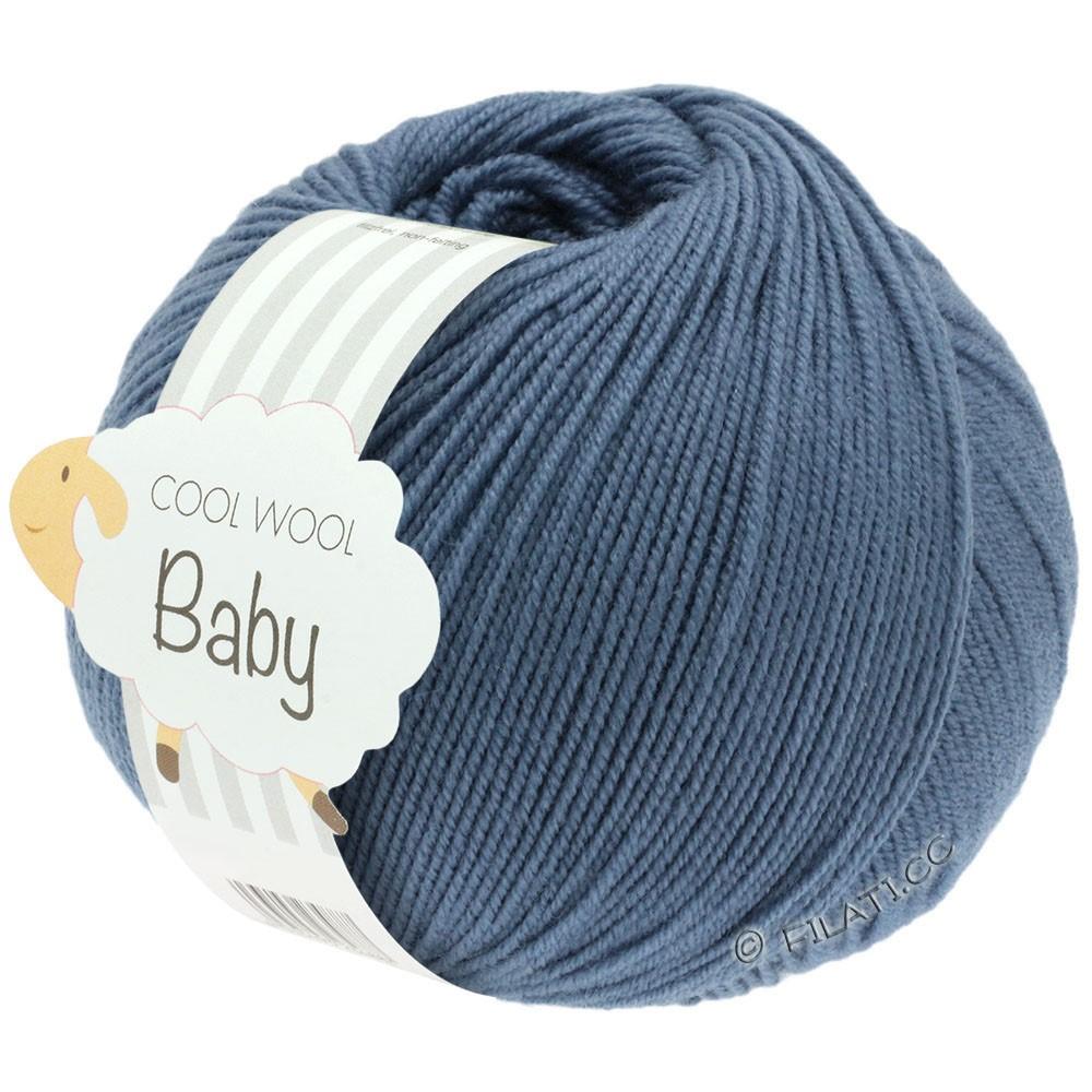 Lana Grossa COOL WOOL Baby | 263-duifblauw