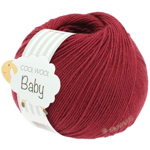 Lana Grossa COOL WOOL Baby 50g | 281-wijnrood