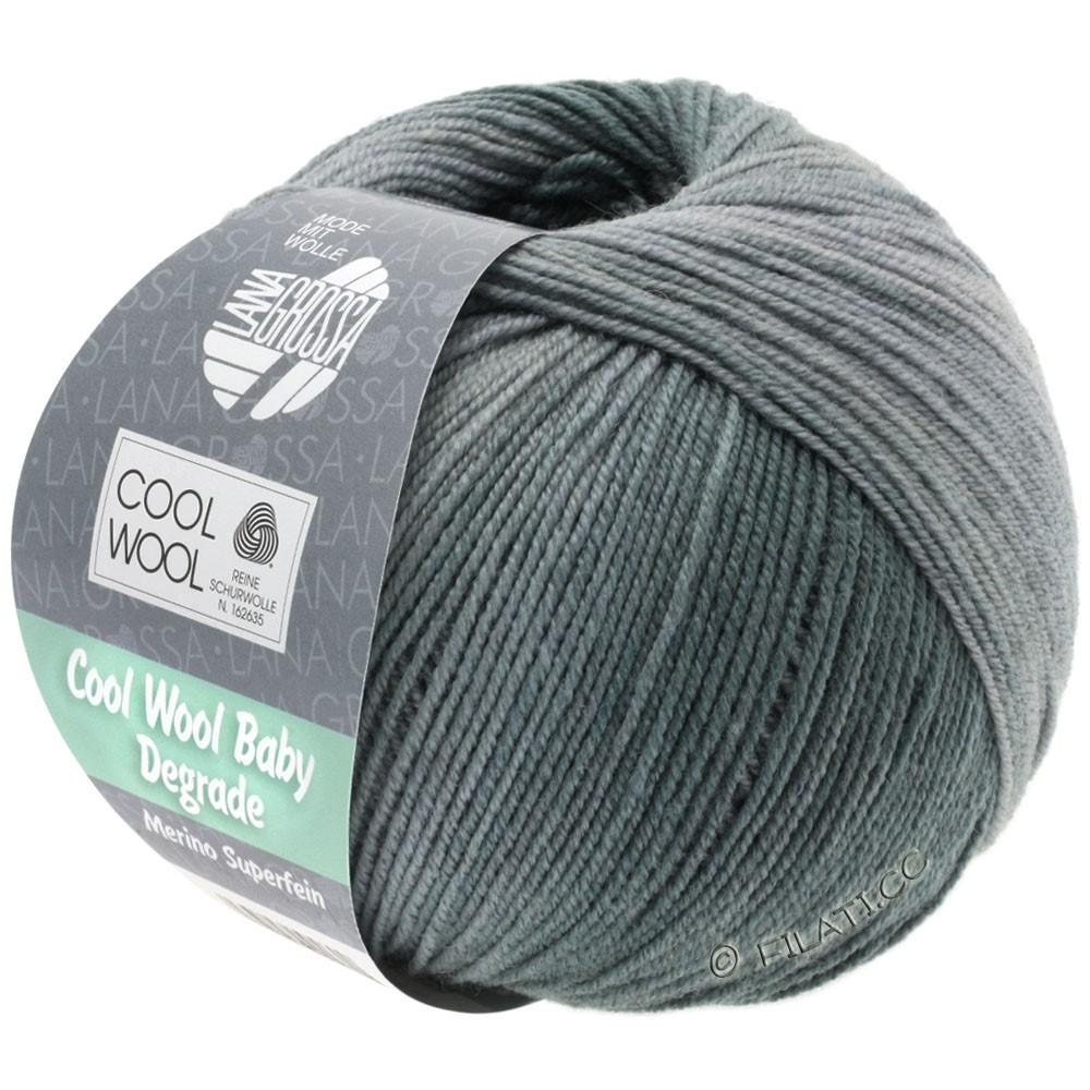 Lana Grossa COOL WOOL Baby Degradé | 506-licht grijs/steengrijs/grafiet