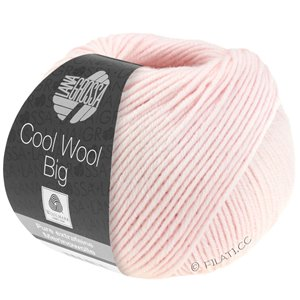 Lana Grossa COOL WOOL Big  Uni/Melange | 0605-zachtroze