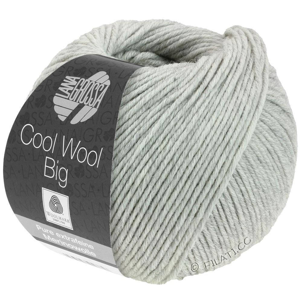 Lana Grossa COOL WOOL Big Uni/Melange/Print | 0616-licht grijs gemêleerd