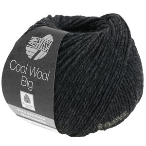 Lana Grossa COOL WOOL Big  Uni/Melange | 0618-antraciet
