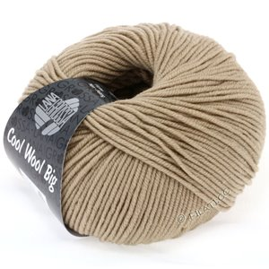 Lana Grossa COOL WOOL Big  Uni/Melange | 0685-zand