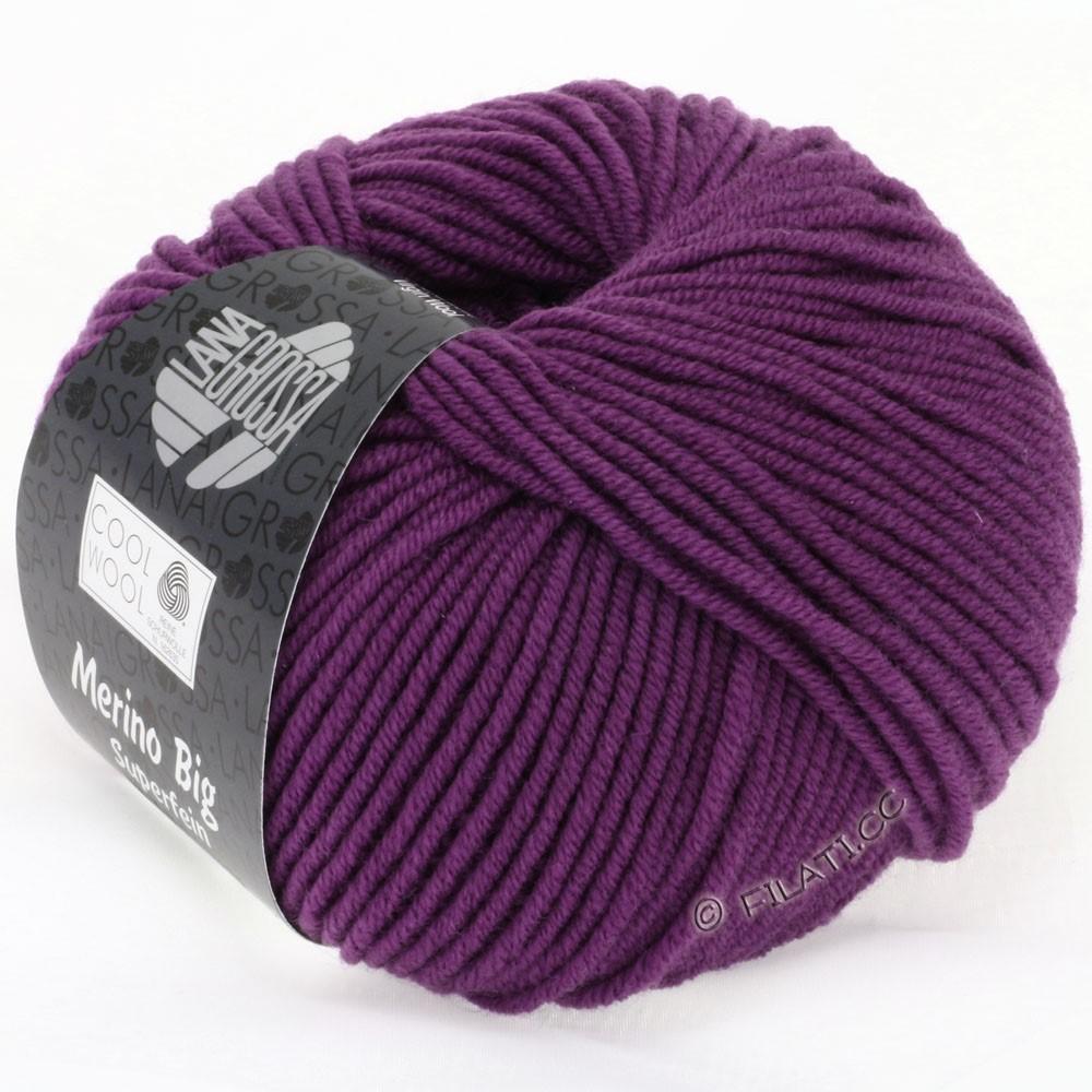 Lana Grossa COOL WOOL Big Uni/Melange/Print | 0695-violet