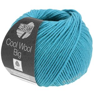 Lana Grossa COOL WOOL Big  Uni/Melange | 0910-turkoois