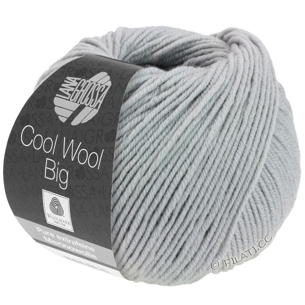 Lana Grossa COOL WOOL Big Uni/Melange/Print | 0928-middelen grijs