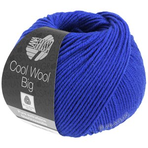 Lana Grossa COOL WOOL Big  Uni/Melange | 0934-royaal