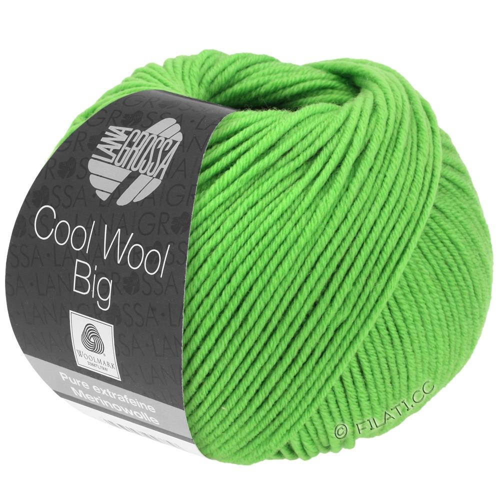 Lana Grossa COOL WOOL Big Uni/Melange/Print | 0941-licht groen