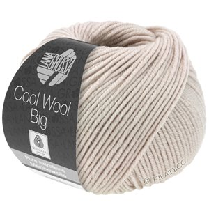 Lana Grossa COOL WOOL Big  Uni/Melange | 0945-beige