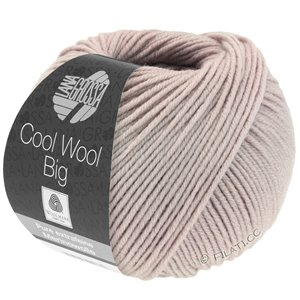 Lana Grossa COOL WOOL Big  Uni/Melange | 0953-rozenhout