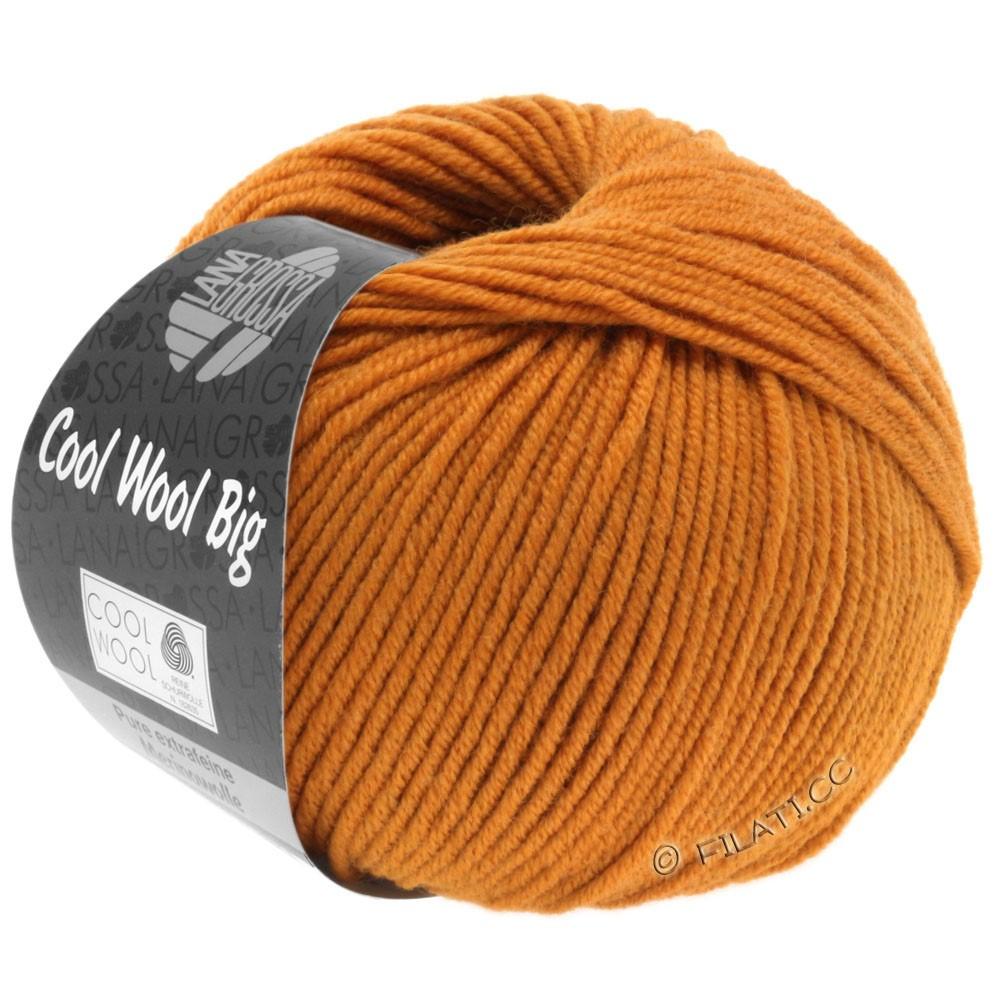 Lana Grossa COOL WOOL Big Uni/Melange/Print | 0955-oranjebruin