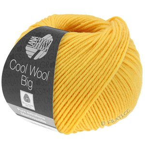 Lana Grossa COOL WOOL Big  Uni/Melange | 0958-geel