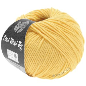 Lana Grossa COOL WOOL Big  Uni/Melange | 0965-lichtgeel