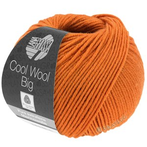 Lana Grossa COOL WOOL Big  Uni/Melange | 0970-roodoranje