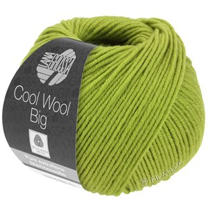 Lana Grossa COOL WOOL Big  Uni/Melange | 0972-kiwi