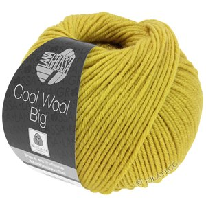 Lana Grossa COOL WOOL Big  Uni/Melange | 0973-mosterd
