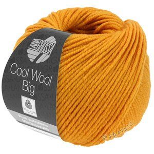 Lana Grossa COOL WOOL Big  Uni/Melange | 0974-geeloranje