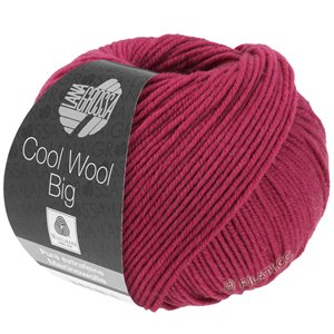 Lana Grossa COOL WOOL Big  Uni/Melange | 0976-kaardinalrood