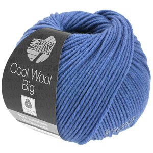 Lana Grossa COOL WOOL Big  Uni/Melange | 0980-shiner blauw