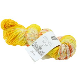 Lana Grossa COOL WOOL  Hand-dyed | 108-geel/room/foksia/olijf