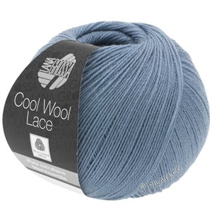 Lana Grossa COOL WOOL Lace | 02-duifblauw