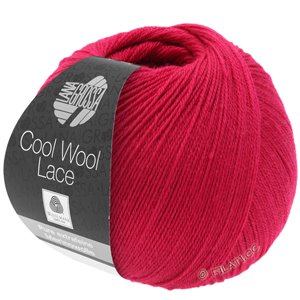 Lana Grossa COOL WOOL Lace | 19-wijnrood