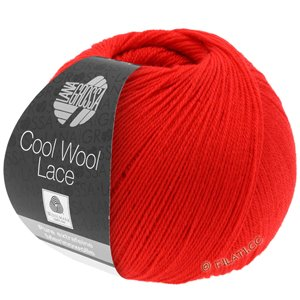 Lana Grossa COOL WOOL Lace | 22-vuurrood