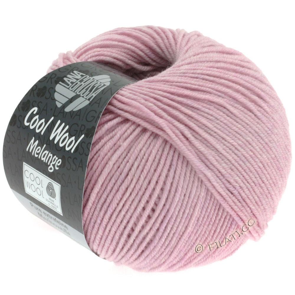 Lana Grossa COOL WOOL   Uni/Melange/Neon | 0134-rose gemêleerd