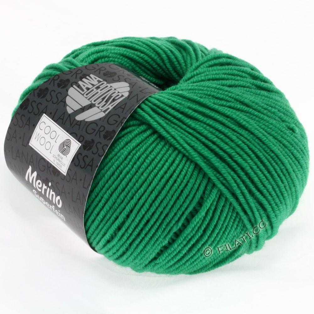 Lana Grossa COOL WOOL   Uni/Melange/Neon | 2003-smaragd