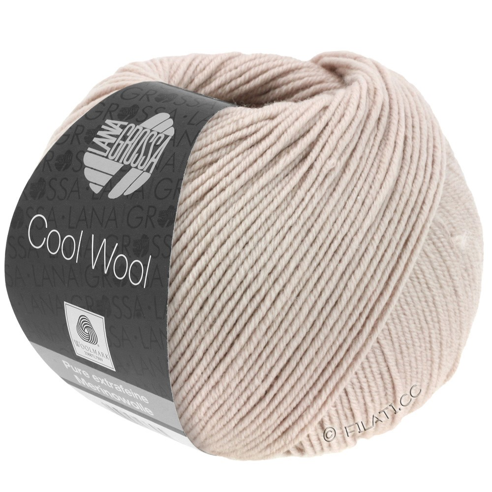 Lana Grossa COOL WOOL   Uni/Melange/Neon | 2010-licht rozenhout