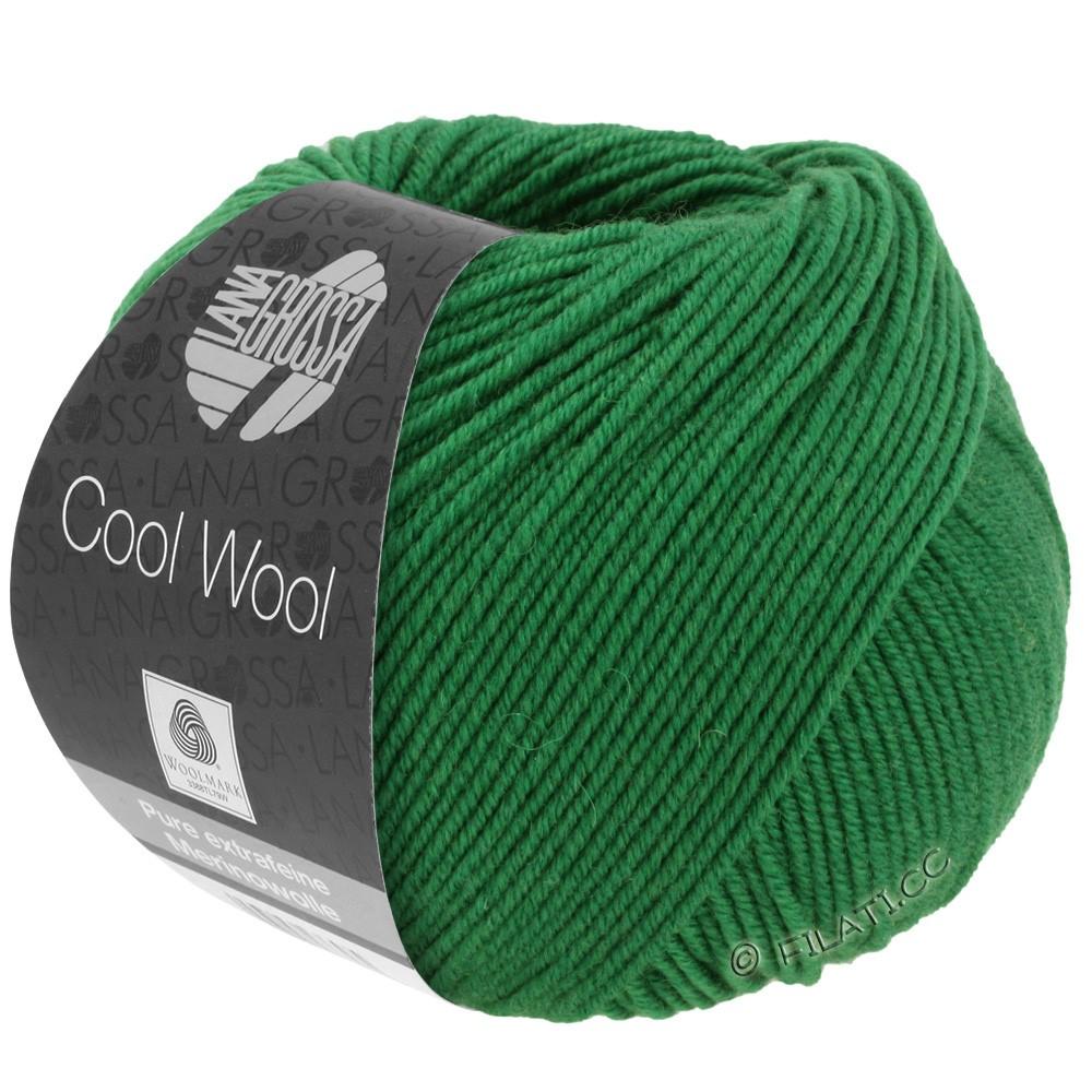 Lana Grossa COOL WOOL   Uni/Melange/Neon | 2017-groen