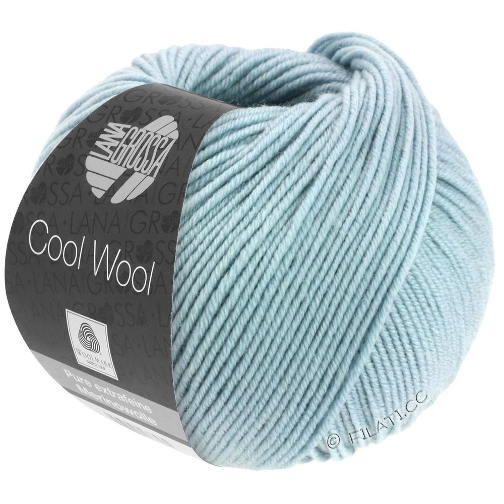 Lana Grossa COOL WOOL   Uni/Melange/Neon | 2028-ijs grijs