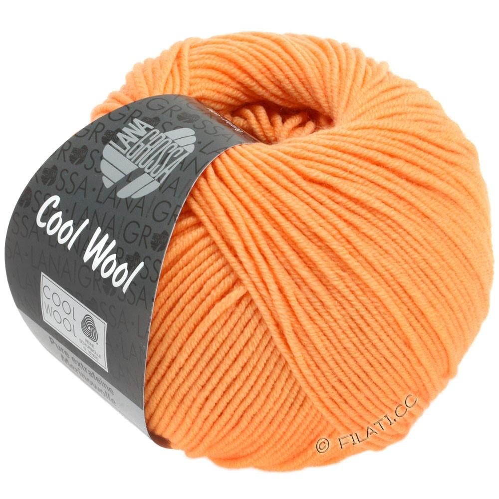Lana Grossa COOL WOOL   Uni/Melange/Neon | 2029-abrikoos