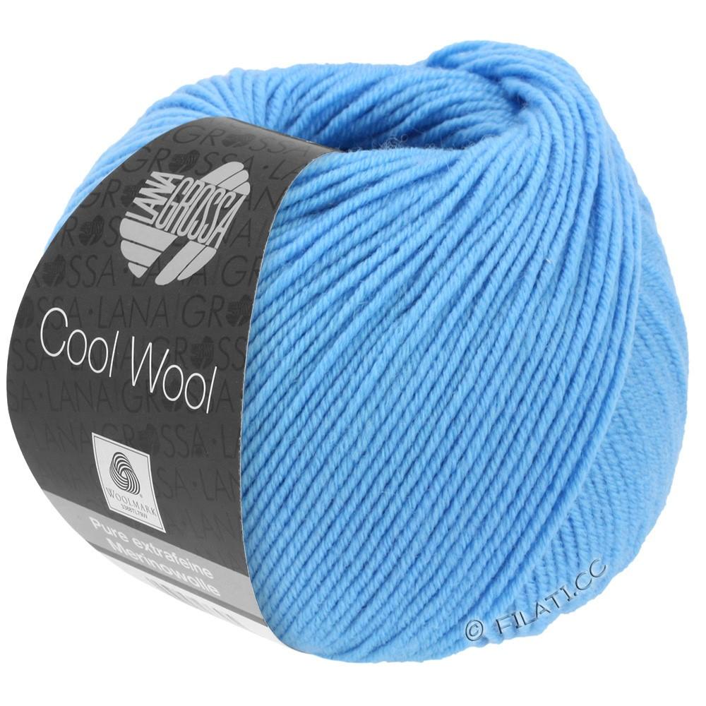 Lana Grossa COOL WOOL   Uni/Melange/Neon | 2031-hemelsblauw