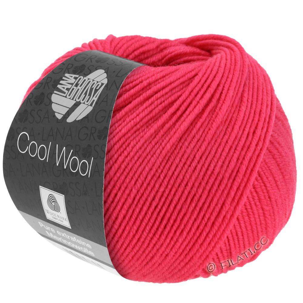 Lana Grossa COOL WOOL   Uni/Melange/Neon | 2043-framboos