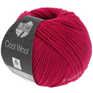 Lana Grossa COOL WOOL   Uni/Melange/Neon | 2067-purperrood