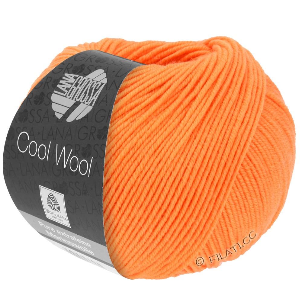 Lana Grossa COOL WOOL   Uni/Melange/Neon | 0418-mandarijntje