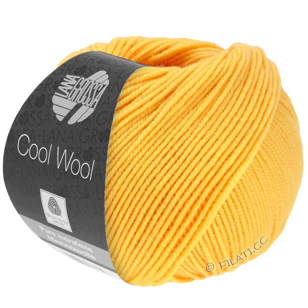 Lana Grossa COOL WOOL   Uni/Melange/Neon | 0419-geel