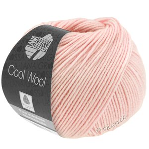 Lana Grossa COOL WOOL   Uni/Melange/Neon | 0452-rose