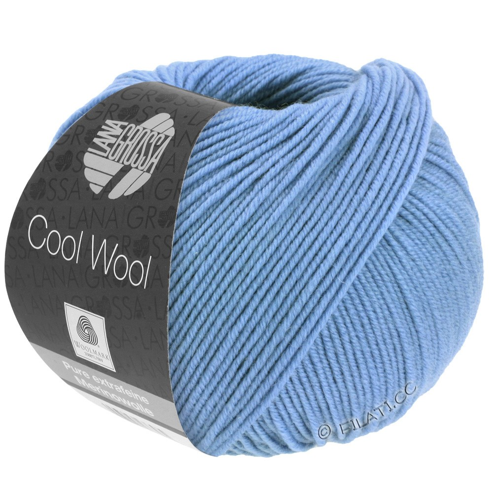 Lana Grossa COOL WOOL   Uni/Melange/Neon | 0463-korenbloem