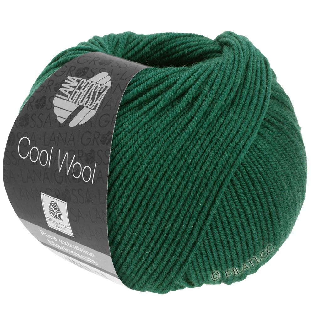 Lana Grossa COOL WOOL   Uni/Melange/Neon | 0501-flessegroen