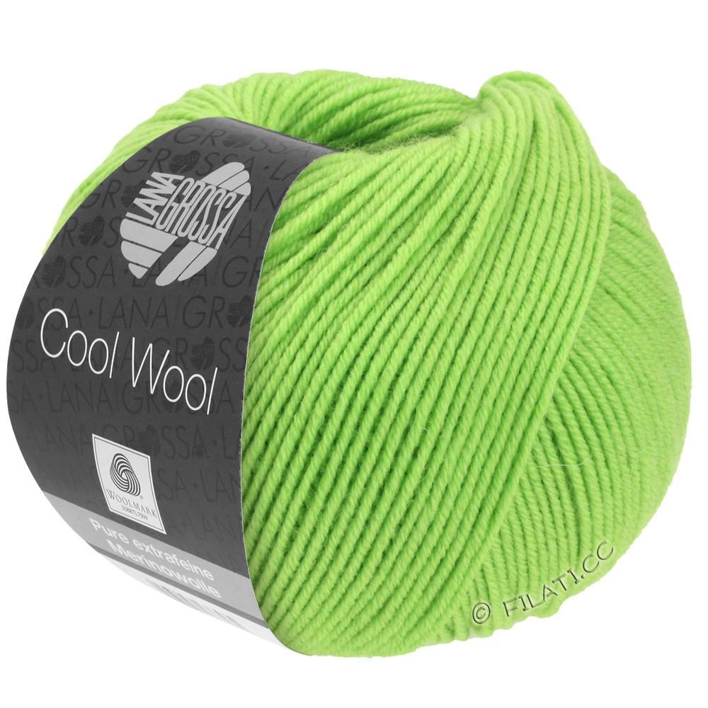 Lana Grossa COOL WOOL   Uni/Melange/Neon | 0509-licht groen