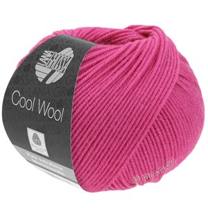 Lana Grossa COOL WOOL   Uni/Melange/Neon | 0537-cyclaam
